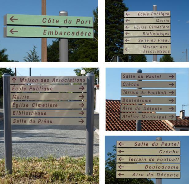 nouveaux panneaux de signalisation locale commune de terssac. Black Bedroom Furniture Sets. Home Design Ideas